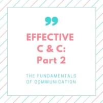 effective c & c pt 2