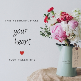 This February, Make Your Heart Your Valentine