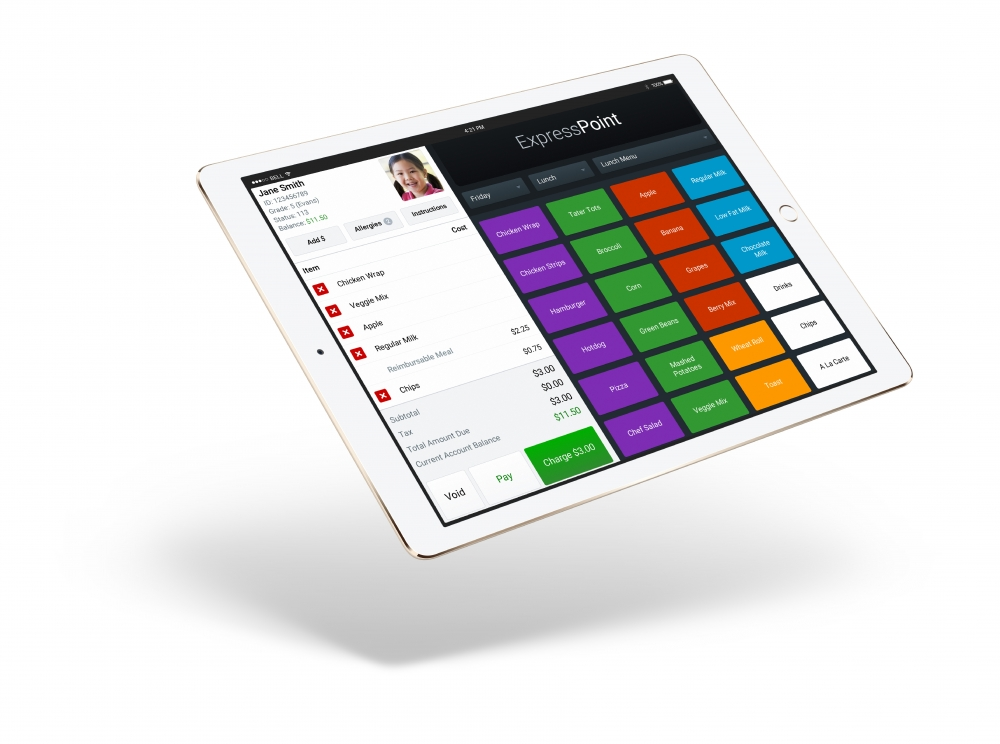 PrimeroEdge ExpressPoint on Tablet