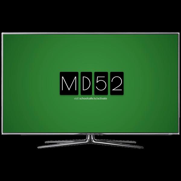 SchoolCafe TV Simple Set-Up