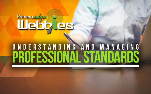 Webbies: Professional Standards