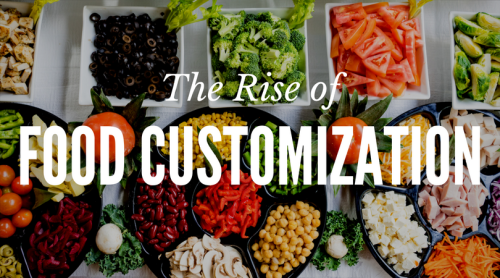 The Rise of Food Customization