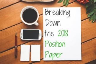 Breaking Down the 2018 Position Paper