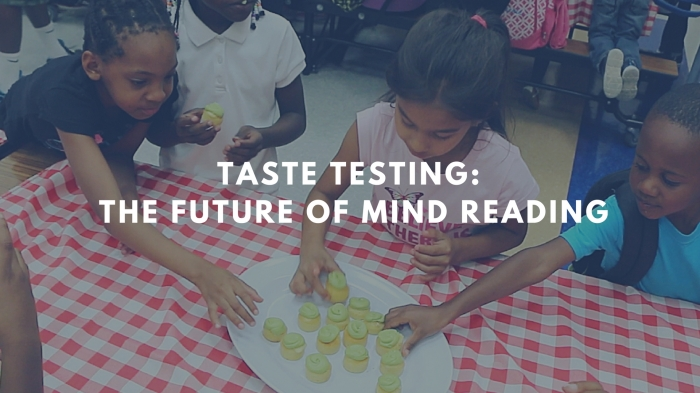 Taste Testing: The Future of Mind Reading
