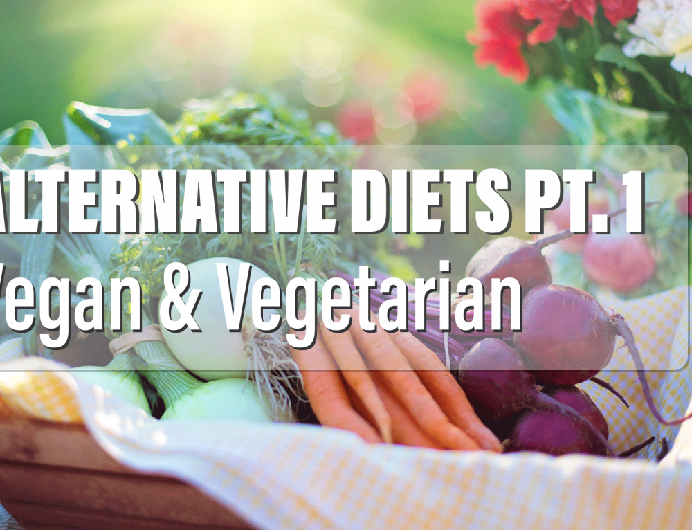 Alternative Diets Pt. 1: Vegan & Vegetarian