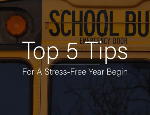 Top 5 Tips for a Stress-Free Year Begin