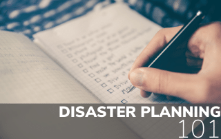 Disaster Planning 101