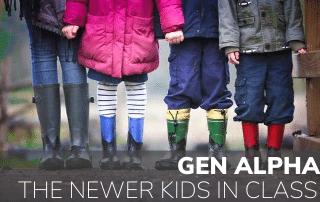 Gen Alpha – The Newer Kids In Class; Part 1